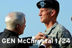 McChrystal to speak at Duke on Jan 24