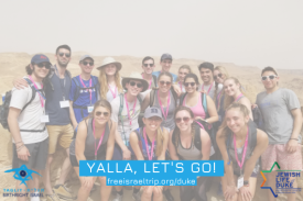 Duke Birthright Israel Group 2018