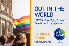 Out in the World LGBTQIA Student Panel
