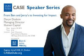 Daryn Dodson CASE Executive Speaker Series