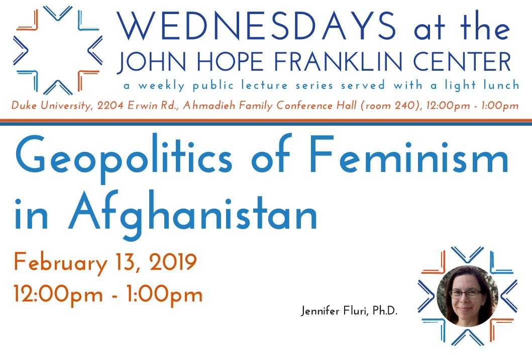 Geopolitics of Feminism in Afghanistan Poster