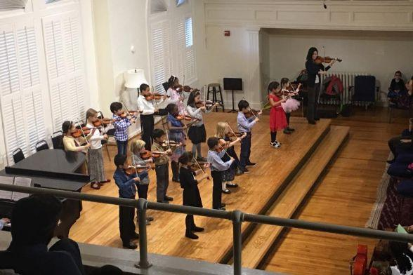 DUSS Violin Choir