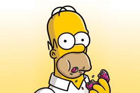 still from The Simpsons Movie