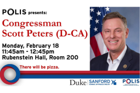 A Conversation with Congressman Scott Peters