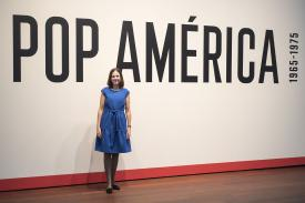 "Esther Gabara curated the exhibition ""Pop América"""