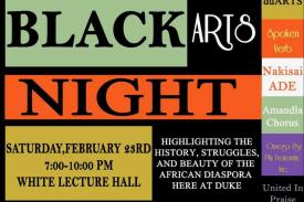 Black Arts Night