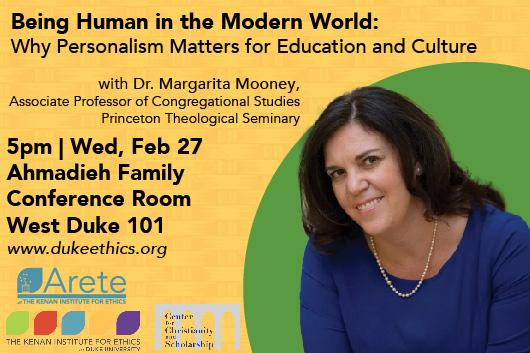 Being Human in the Modern World, with Margarita Mooney