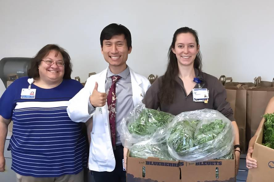 Duke Hospital Staff Vegetable Prescription Program
