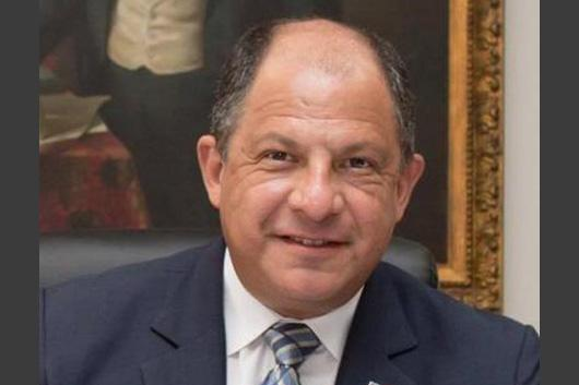 portrait of former president Luis Guillermo Solís