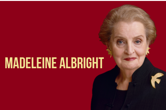 Madeleine Albright at Duke February 28, 2019