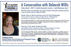 Deborah Willis flyer