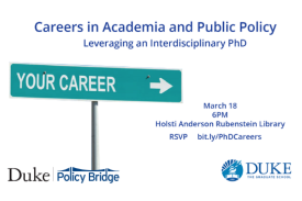 Careers in Academia and Policy