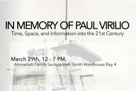 In Memory of Paul Virilio