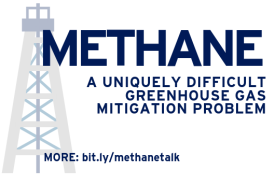 Methane - A uniquely difficult greenhouse gas mitigation problem. More: bit.ly/methanetalk