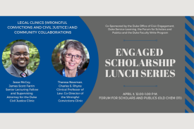 April 3 Engaged Scholarship Lunch Series