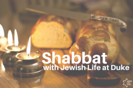 Shabbat Candles and Challah Bread