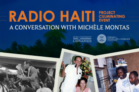 Radio Haiti Culmination: A Conversation with Michèle Montas