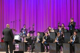 The Duke Jazz Ensemble