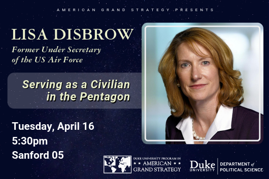 AGS Presents: Lisa Disbrow - Serving as a Civilian in the Pentagon