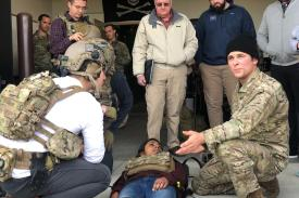 H4D students visit Fort Bragg