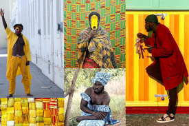 An Evening with Serge Attukwei Clottey