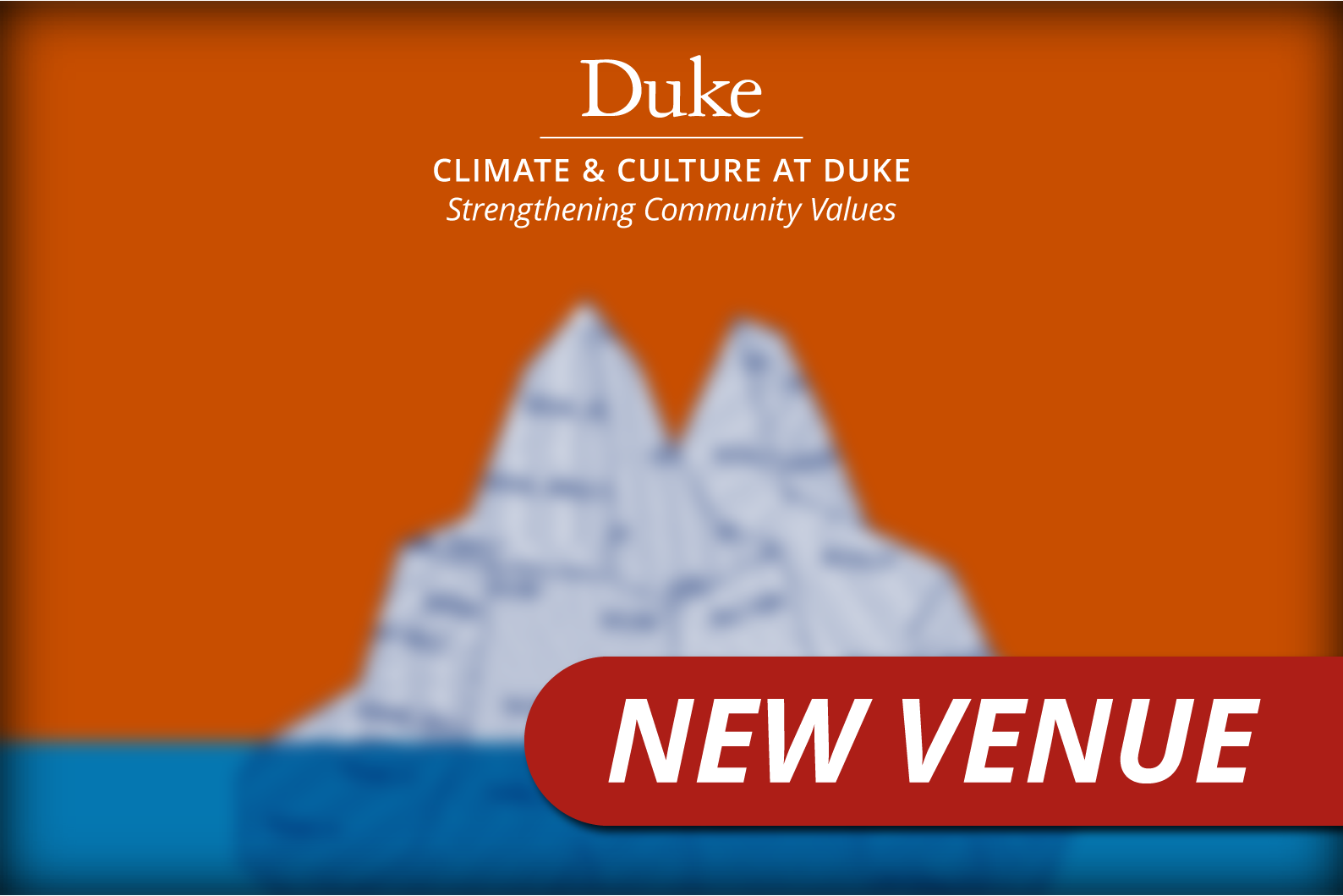 Harassment: Climate and Culture Keynote Iceberg Graphic