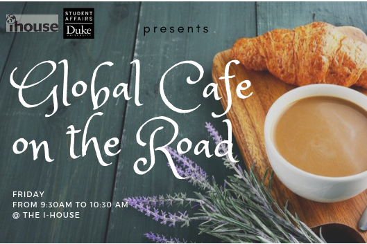 Global Cafe on the road at International House