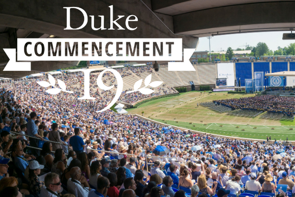 Duke Commencement at Wallace Wade Stadium