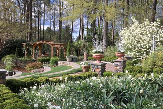 Enjoy the flowers of Duke Gardens on a tour.