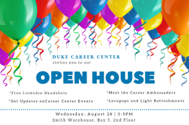 Open House at the Career Center