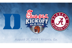 Duke vs Alabama Chick-fil-A Kickoff Game