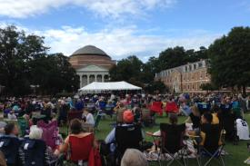 Duke Symphony Orchestra Pops Concert on the East Campus Main Quad