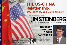 AGS Presents: Jim Steinberg