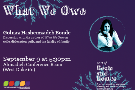 What We Owe with Golnaz Hashemzadeh Bonde