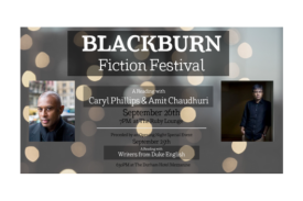 Poster for Blackburn  Festival Feature Readings