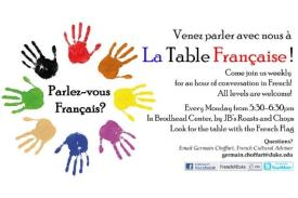 La Table Flyer