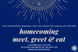 homecoming meet, greet and eat