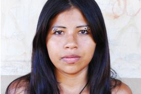photo of a young Maxacali girl