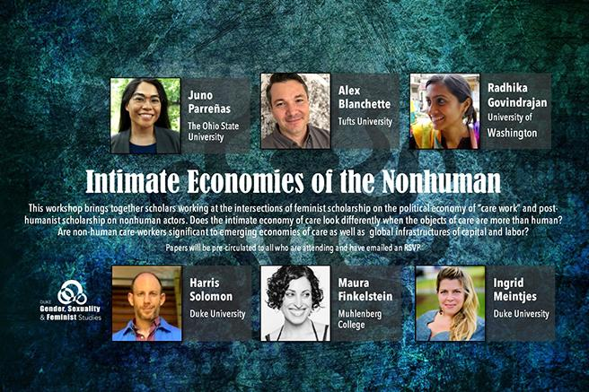 Intimate Economies of the Nonhuman Workshop