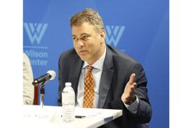 Andrew Stein at the Wilson Center
