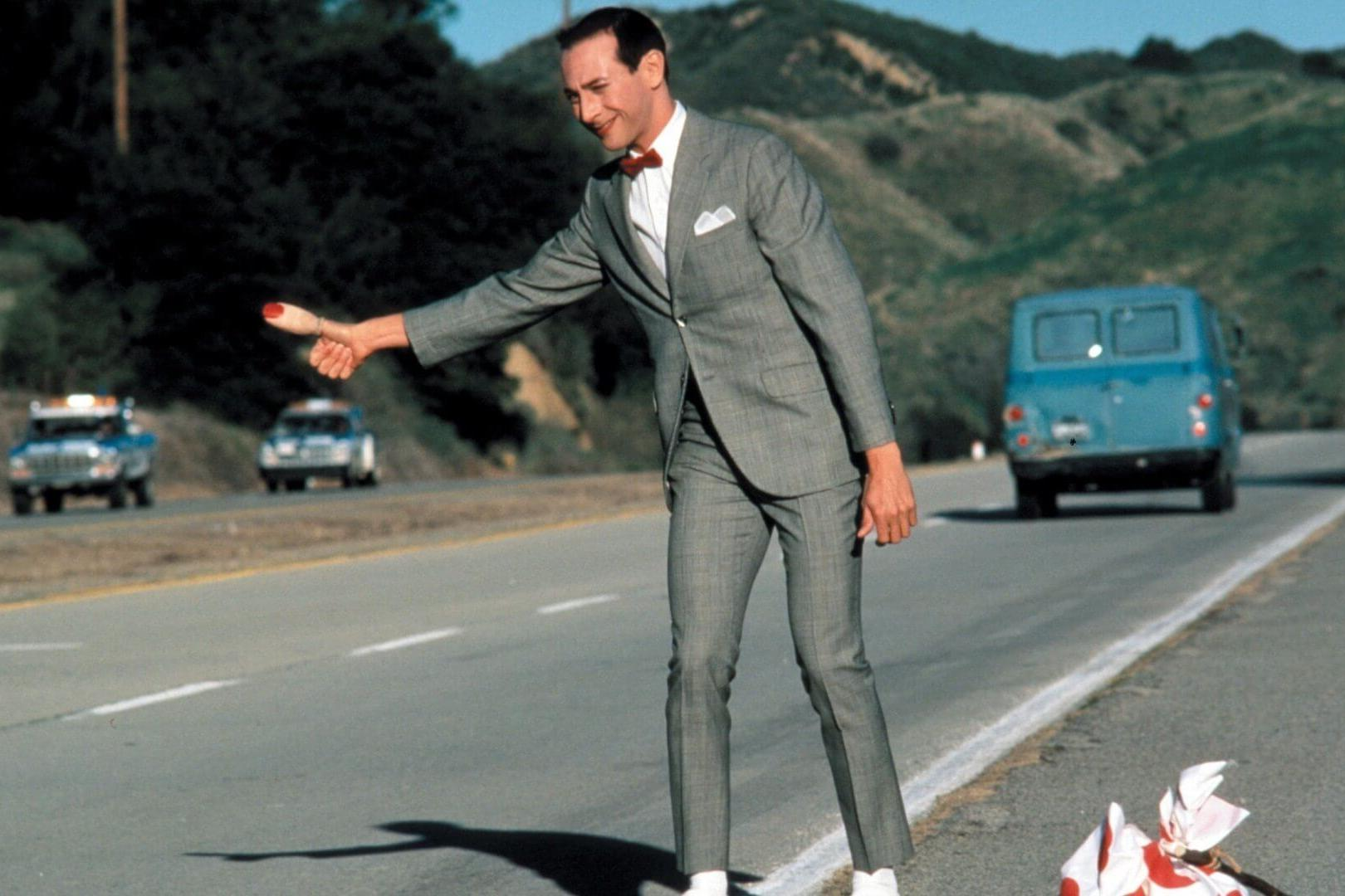 Still image from Pee-wee's Big Adventure