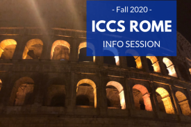 ICCS Rome Fall 2020 Info Session