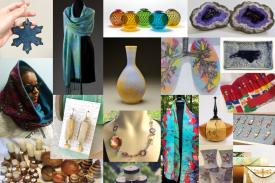 Works by various NC artisans & craftspersons available