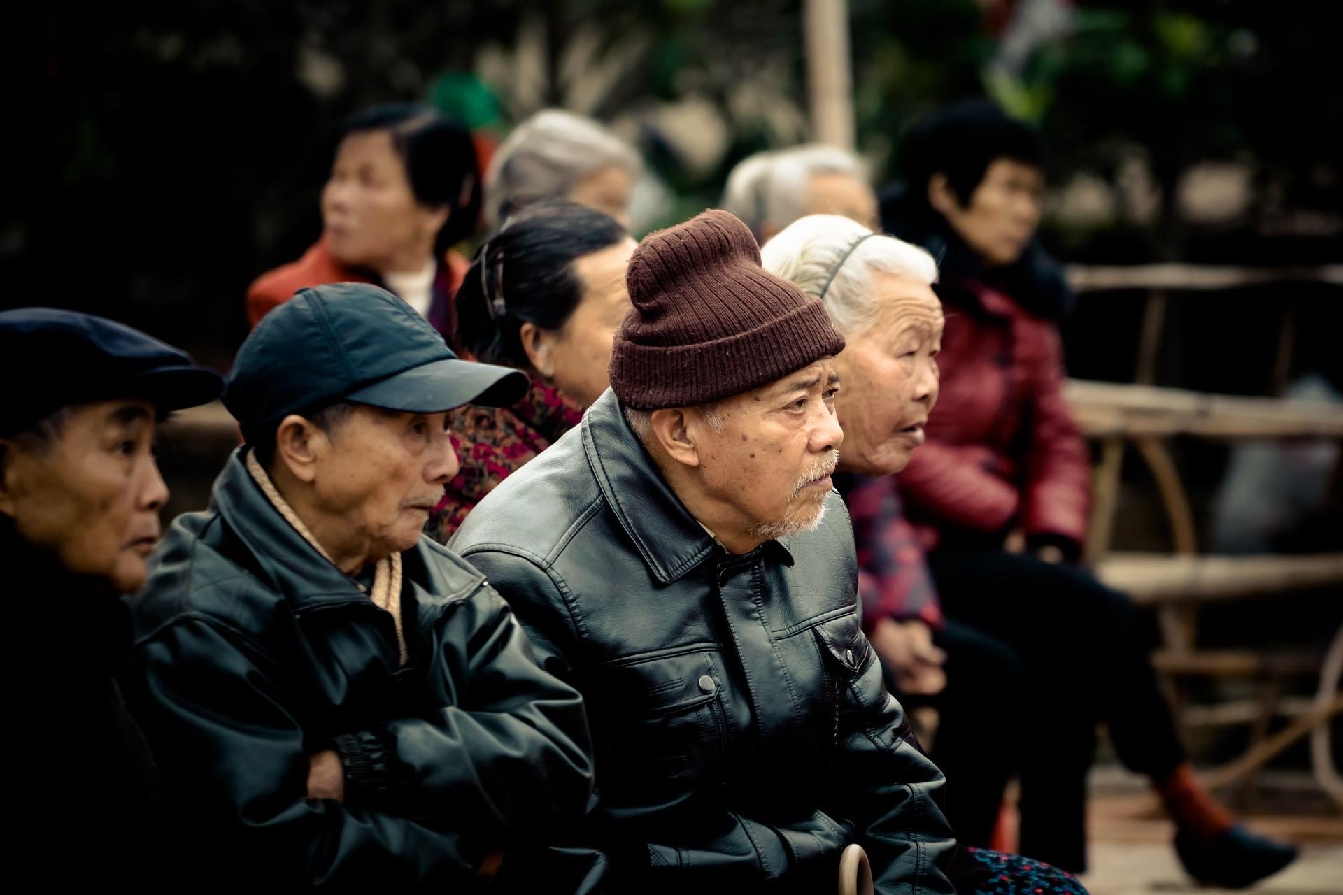 Elderly people in China