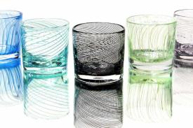 Glass Tumblers by John Geci