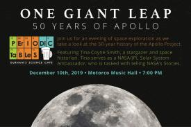 December 10th Periodic Tables Event: One Giant Leap - 50 Years of Apollo