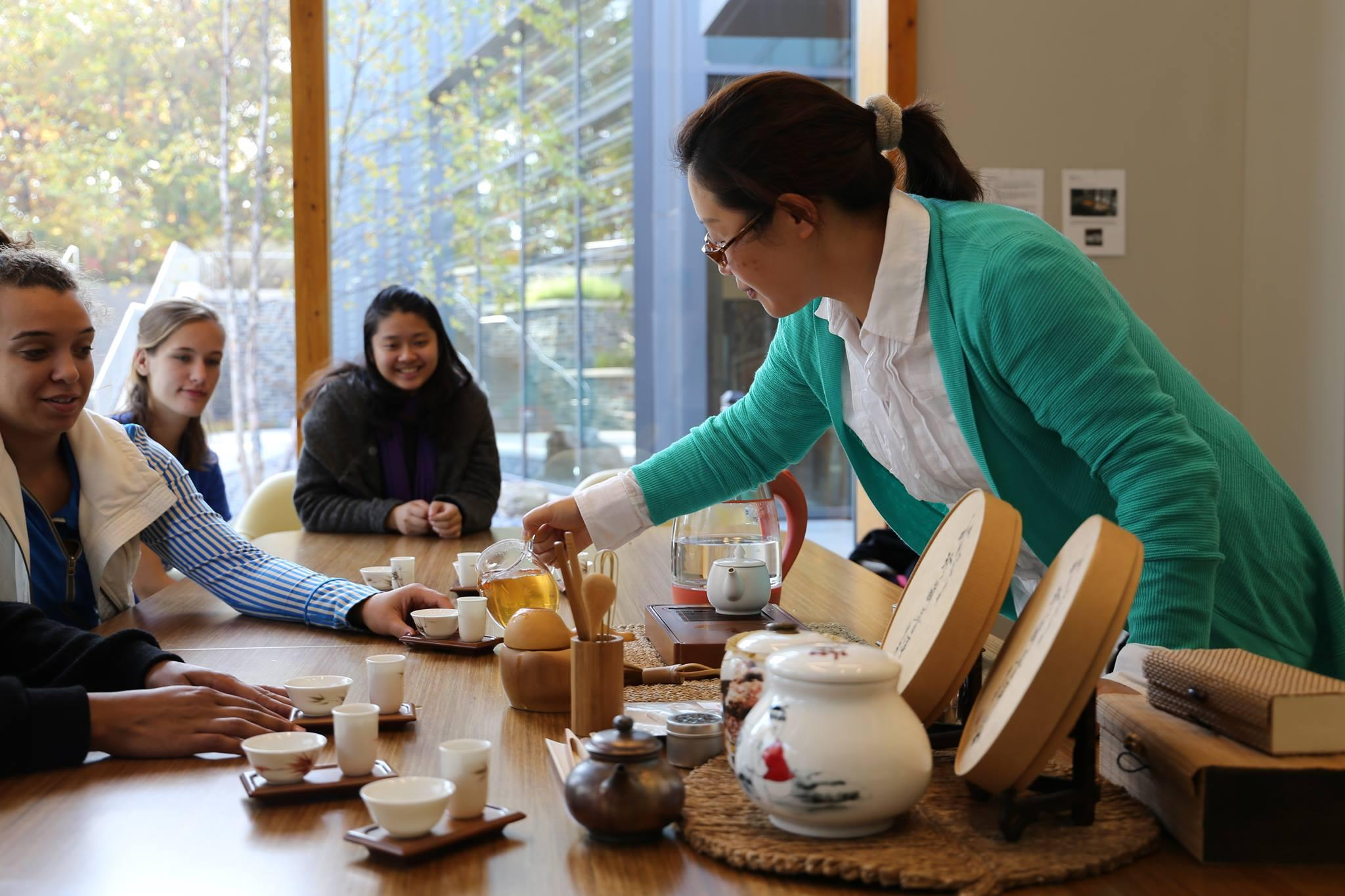 In partnership with Duke CommuniTEA, this wellness experience allows you to gain a deeper understanding of wellness through tea culture.   You will have the opportunity to interact through the medium of tea appreciation in a space that promotes relaxation and self-care.  This group meets every Sunday & Thursday from 5:00pm - 5:50pm in Oasis West, Room 128 in the Student Wellness Center.