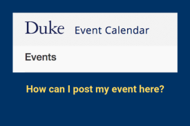 How Can My Group Post Events on the Campus Event Calendar?