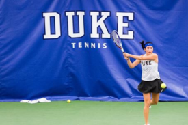 Duke tennis player
