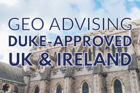 GEO Advising Duke-Approved UK & Ireland